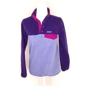 Patagonia Sweater Vintage Shynchilla XXS Purple